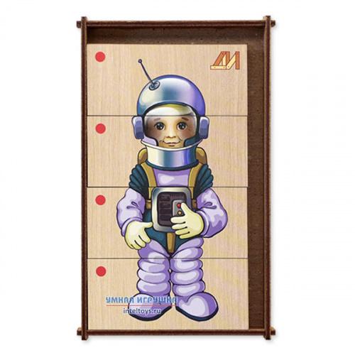 Дидактическая игра «Сложи картинку – Профессии» №1, Деревянные игрушки