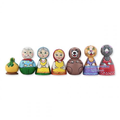 Деревянный кукольный театр «Репка», Деревянные игрушки