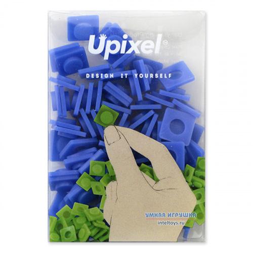 Пиксельный набор больших фишек (темно-синий), Upixel (Юпиксель)