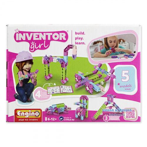 Конструктор Engino Inventor Girls, 5 моделей, Энжино