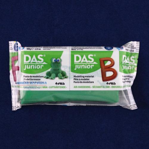 Масса для моделирования «DAS Junior» (темно-зеленая), Fila (Фила)
