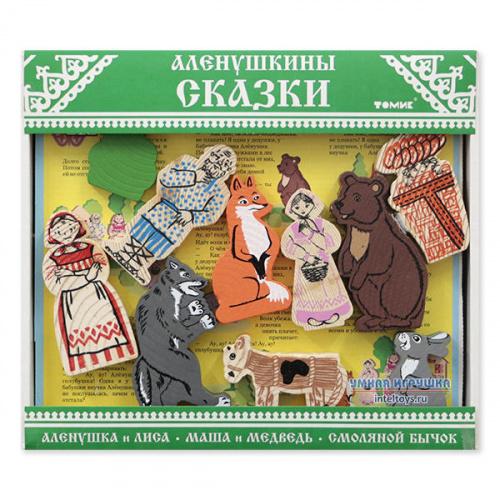 Конструктор «Аленушкины сказки», 24 детали, Томик