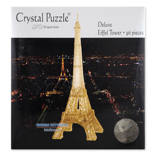 3D-головоломка Crystal Puzzle «Эйфелева башня», Кристалл Пазл
