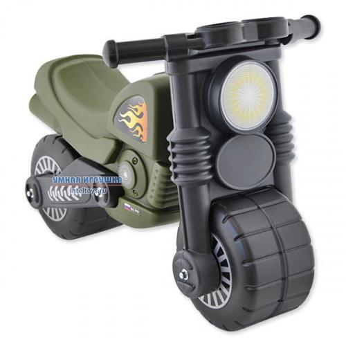 Толокар «Военный мотоцикл Полесье – Моторбайк»