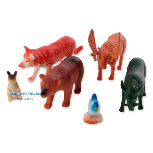 Набор фигурок Играем вместе «6 лесных животных»
