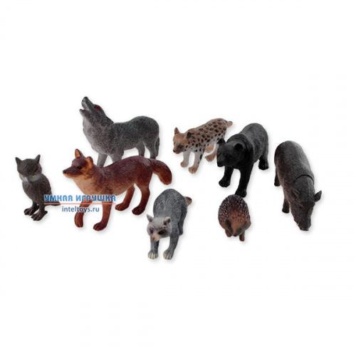 Набор Играем вместе «Животные средней полосы» (8 штук)