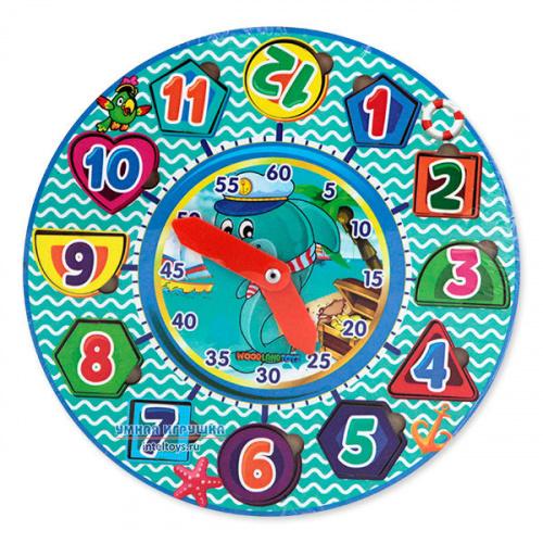 Игрушка «Часы-вкладыши», Woodland (Вудлэнд)