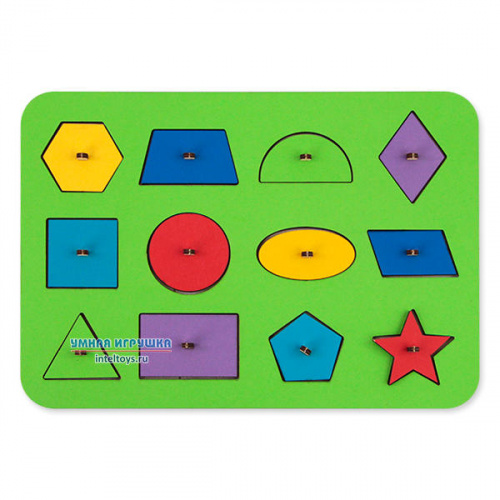 Игры Монтессори «Геометрия», Woodland (Вудлэнд), в ассортименте