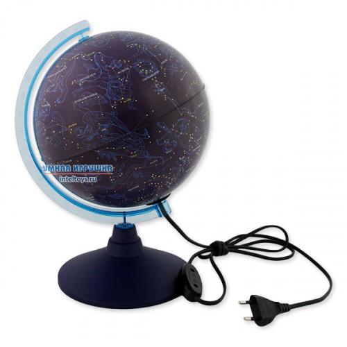 Глобус Звездного неба с подсветкой, 21 см, Классик Евро, Globen (Глобен)