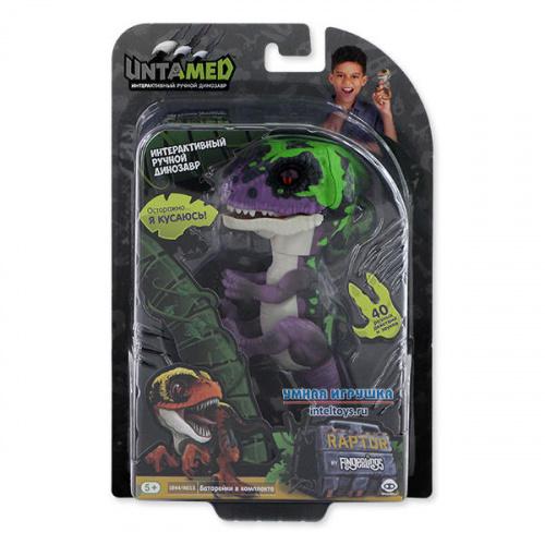Интерактивный динозавр Untamed Fingerlings «Рейзор», WowWee (ВовВи)