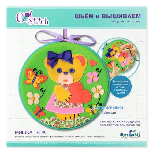 Набор для шитья и вышивания «Мишка Тяпа», Origami (Оригами)