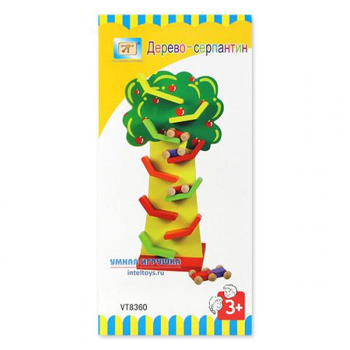Развивающая игрушка «Дерево-серпантин», Винтик и Шпунтик