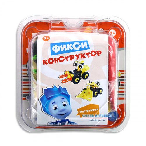Детский Фикси конструктор «Автопогрузчик 2 в 1», 48 деталей