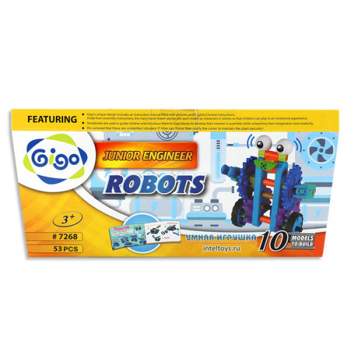 Набор для конструирования GIGO «Роботы», Гиго