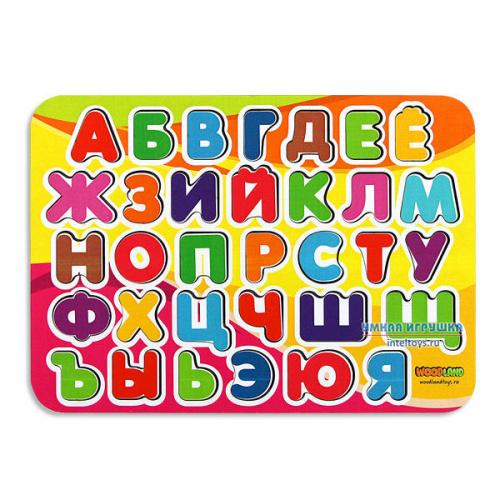 Рамка «Изучаем алфавит», Woodland (Вудлэнд)