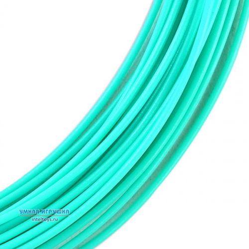 Моток PLA пластика 10 метров (аквамарин), UNID (Юнид)