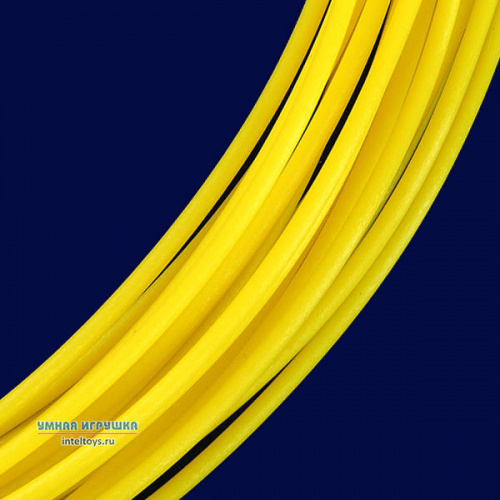 Желтый PLA пластик, 10 метров, UNID (Юнид)