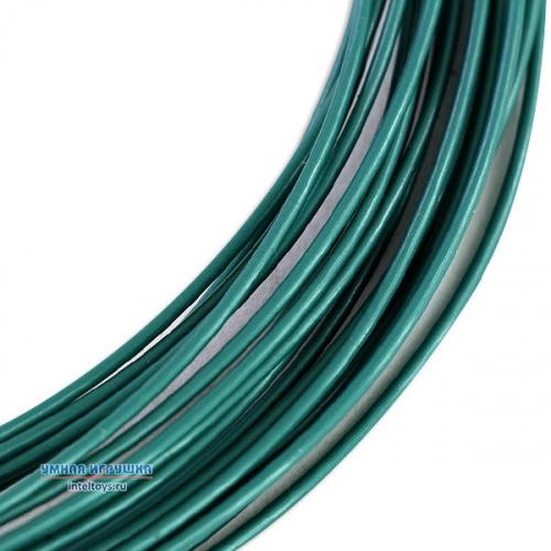 Нить PLA пластика 10 метров (зеленый металлик), UNID (Юнид)