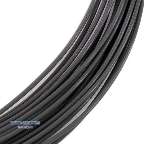 Серый PLA пластик, 10 метров, UNID (Юнид)