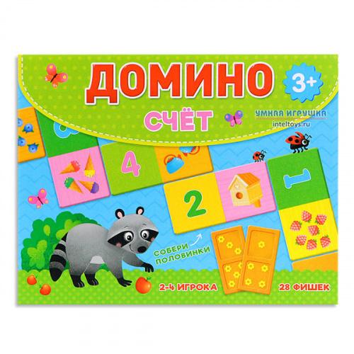 Домино «Счет», ГеоДом, 28 фишек