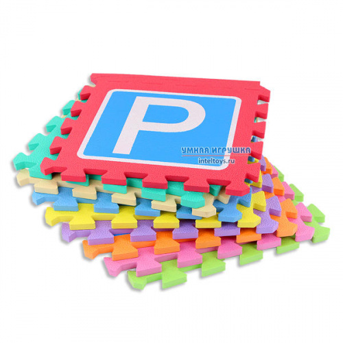 Коврик-пазл «Дорожные знаки», 9 элементов, Нескучные игры