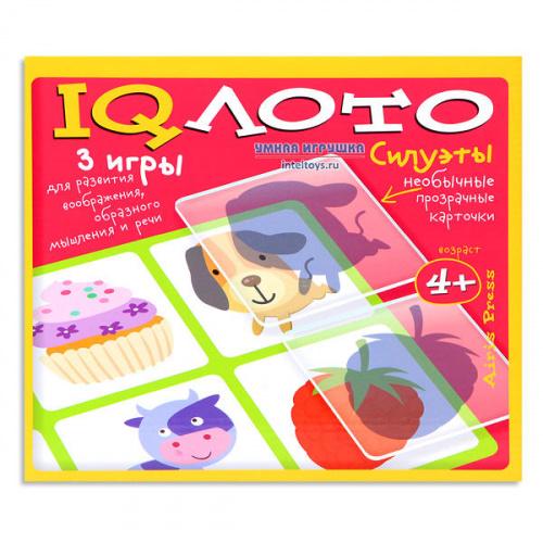 Настольная игра «IQ лото Силуэты», Айрис-Пресс