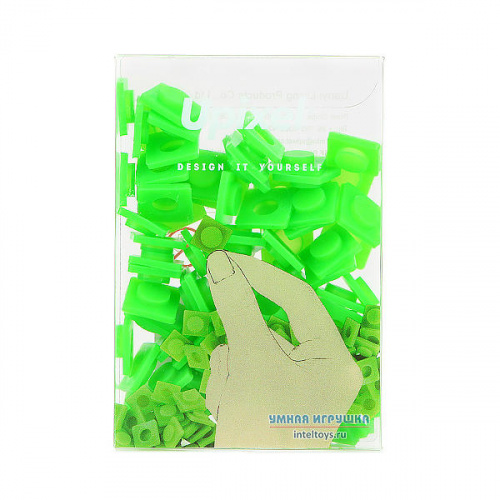 Большие пиксели Upixel (травяной зеленый цвет), Юпиксель