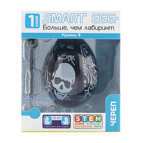 3D-головоломка Smart Egg «Череп», 9 уровень, Смарт Эгг