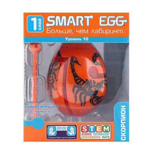 3D-головоломка Smart Egg «Скорпион», 10 уровень, Смарт Эгг