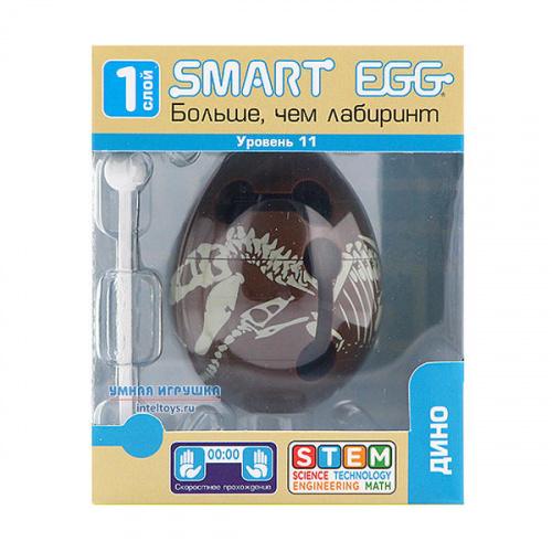 3D-головоломка Smart Egg «Дино», 11 уровень, Смарт Эгг