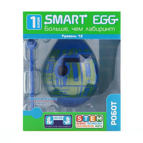 3D-головоломка Smart Egg «Робот», 12 уровень, Смарт Эгг