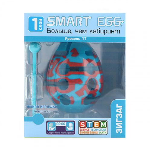 3D-головоломка Smart Egg «Зигзаг», 17 уровень, Смарт Эгг