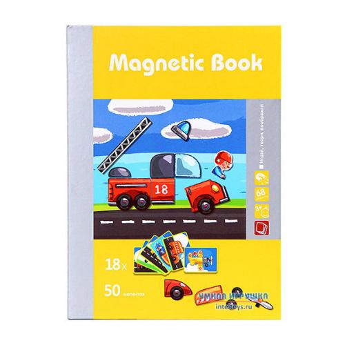 Развивающая игра Magnetic Book «Юный инженер», Магнетик Бук
