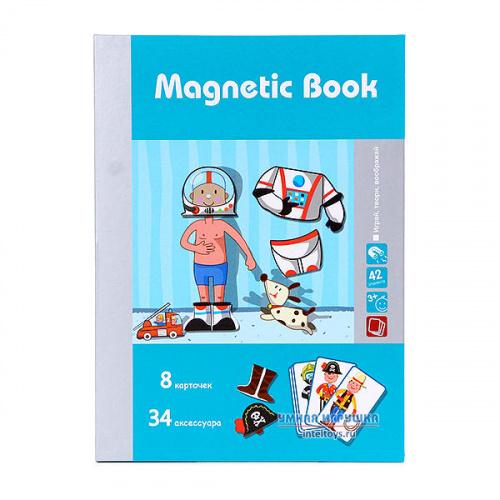 Развивающая игра «Интересные профессии», Magnetic Book (Магнетик Бук)