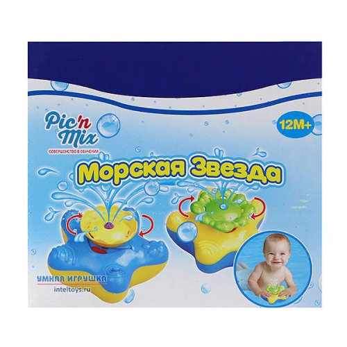 Фонтанчик-игрушка «Морская звезда», Pic'n Mix (Пик'н Микс)