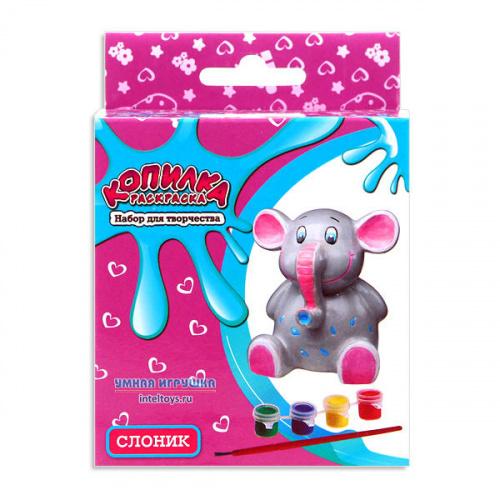 Копилка-раскраска для детей «Слоник», Bumbaram (Бумбарам)