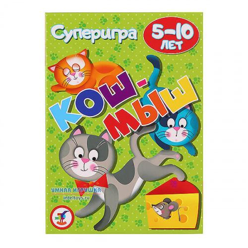 Карточная игра «Кош-мыш», Дрофа-Медиа, 5-10 лет