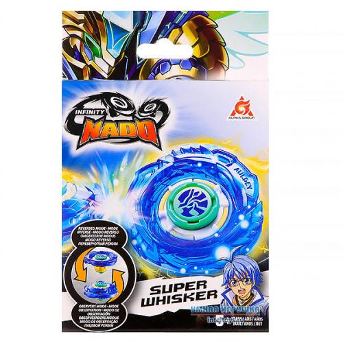 Волчок Infinity Nado Super Whisker (пластик), Инфинити Надо