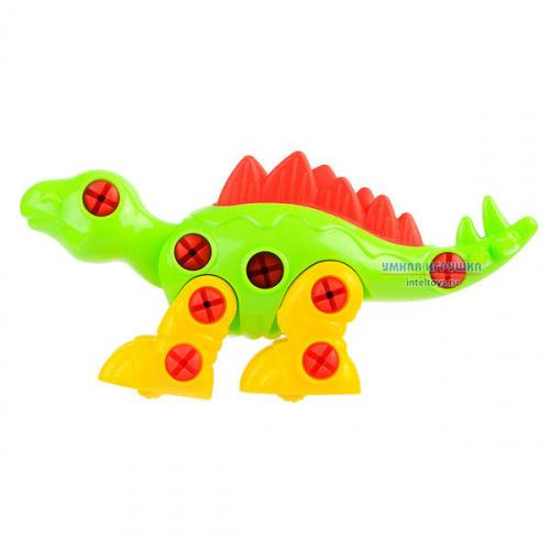 Конструктор «Стегозавр», 30 элементов, Полесье