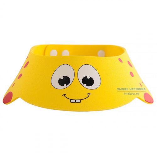 Козырек Roxy Kids для мытья головы «Желтый жирафик», Рокси Кидс