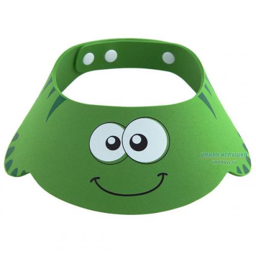 Козырек для мытья головы «Зеленая ящерка», Roxy Kids (Рокси Кидс)