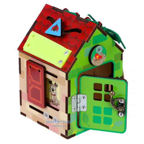 Развивающая игрушка «Бизи-домик», Тимбергрупп