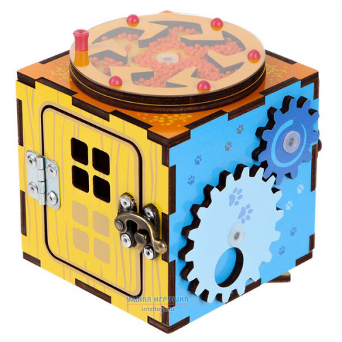 Развивающий бизи-кубик, Тимбергрупп