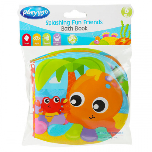 Книжка-пищалка для игр в ванной, Playgro (Плейгро)