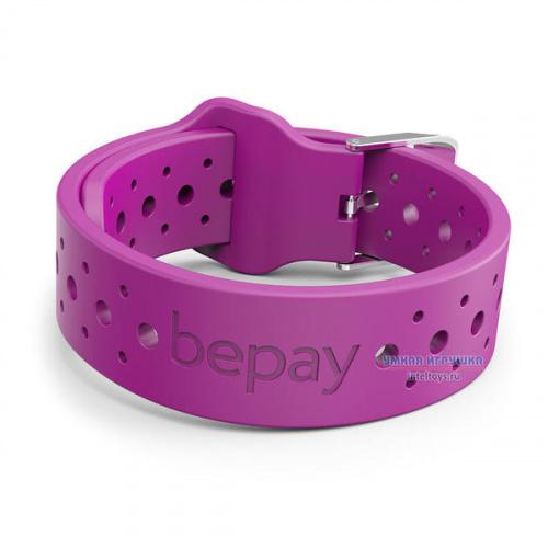 Браслет для бесконтактной оплаты Bepay с NFC взрослый (фиолетовый), Бипэй