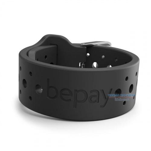 Браслет Bepay с NFC детский (черный), Бипэй