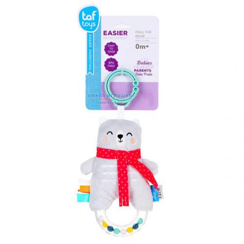 Развивающая игрушка «Медвежонок Поль», Taf Toys (Таф Тойс)