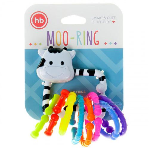 Погремушка-колечки «Moo-Ring», Happy Baby (Хэппи Бэби)
