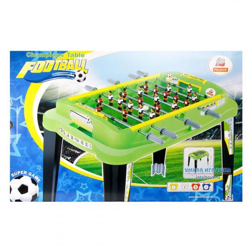 Настольный мини-футбол Полесье «Champions» №4 (зеленый)