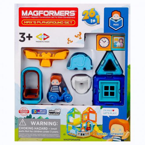 Конструктор Magformers «Max's  Playground Set», Магформерс, 33 детали